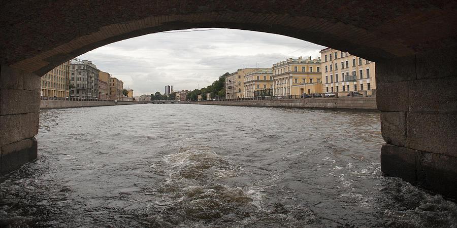 Bridge across the Fontanka River Photograph by Fotosearch