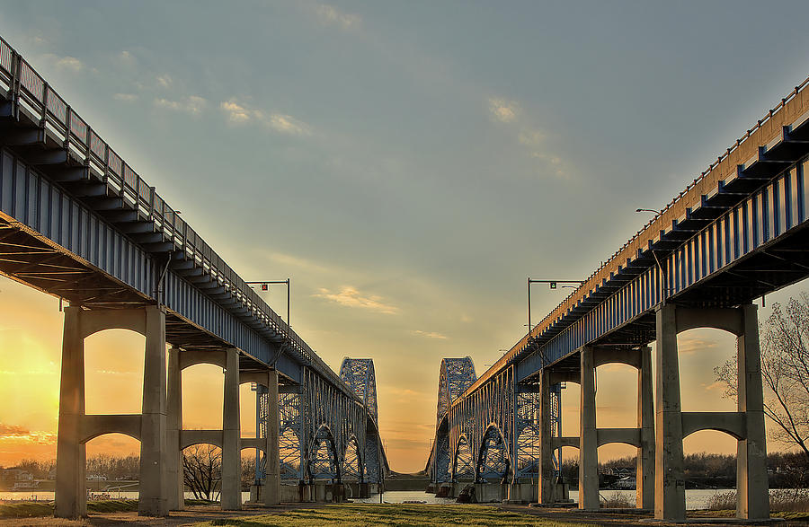 Bridge At Sunset Photograph