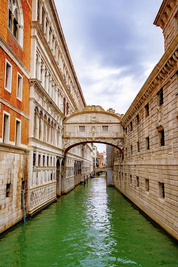 The Bridge Of Sighs in Venice -1- by Debbie Ann Powell