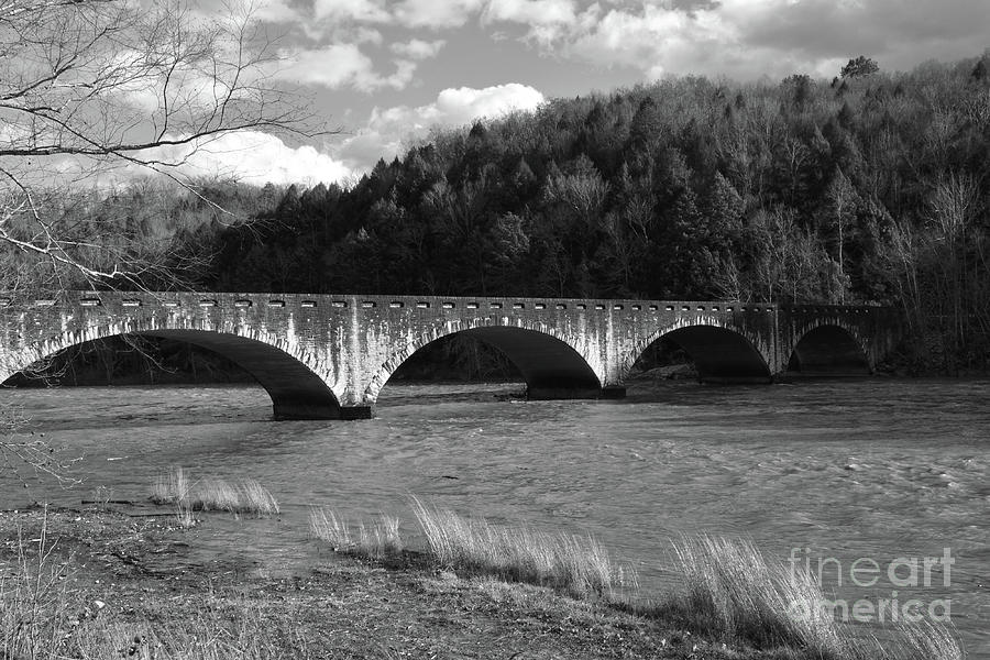 Bridge Over Cumberland River by Phil Perkins