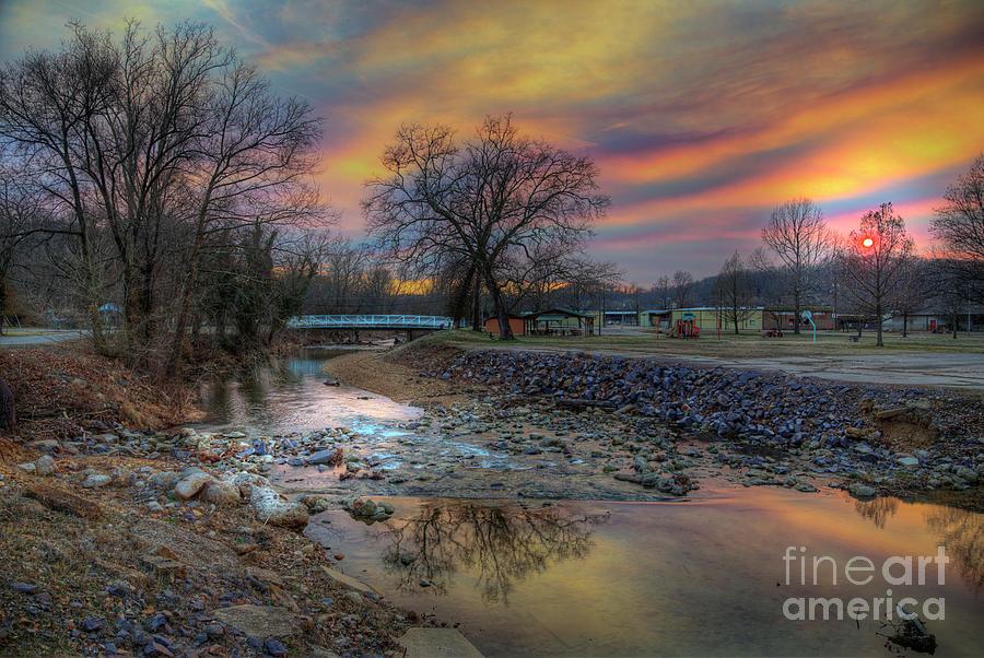 Travel Photograph - Bridge over McKenzie Creek II by Larry Braun