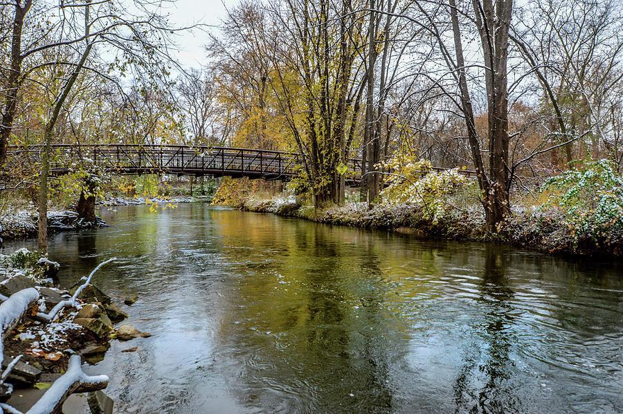 Bridge Over the Clinton River DSC_0841 by Michael Thomas