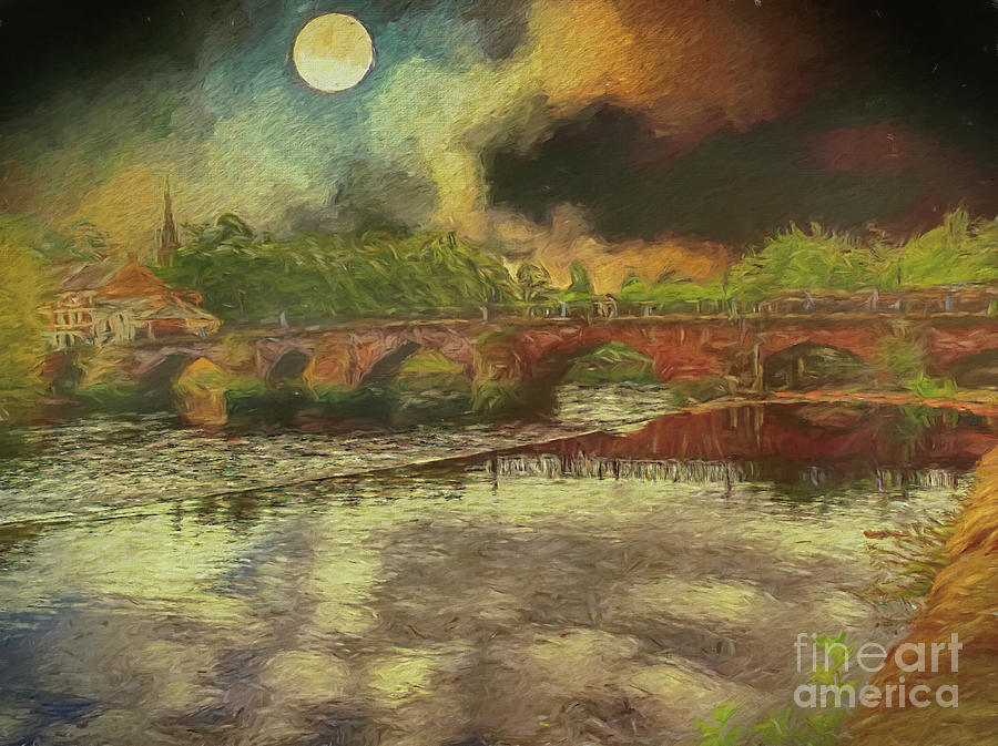 Bridge over the River Dee by Leigh Kemp