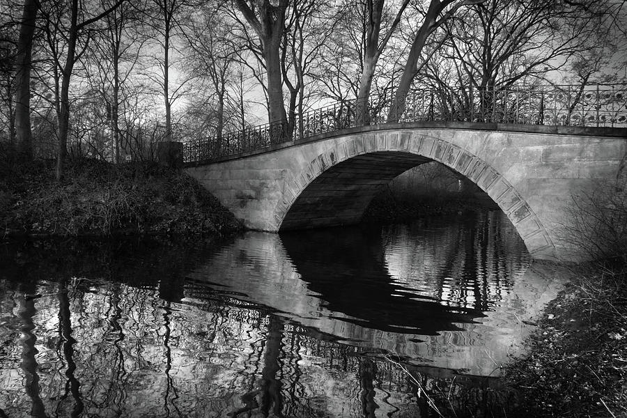 Bridge Reflection In River Photograph