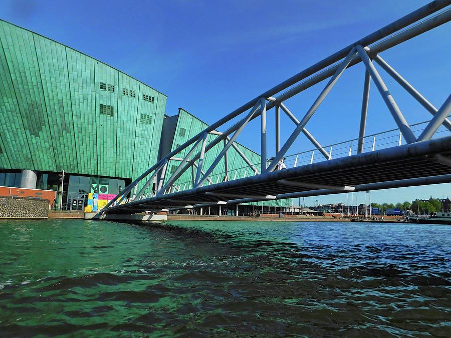 Bridge To Nemo In Amsterdam Photograph