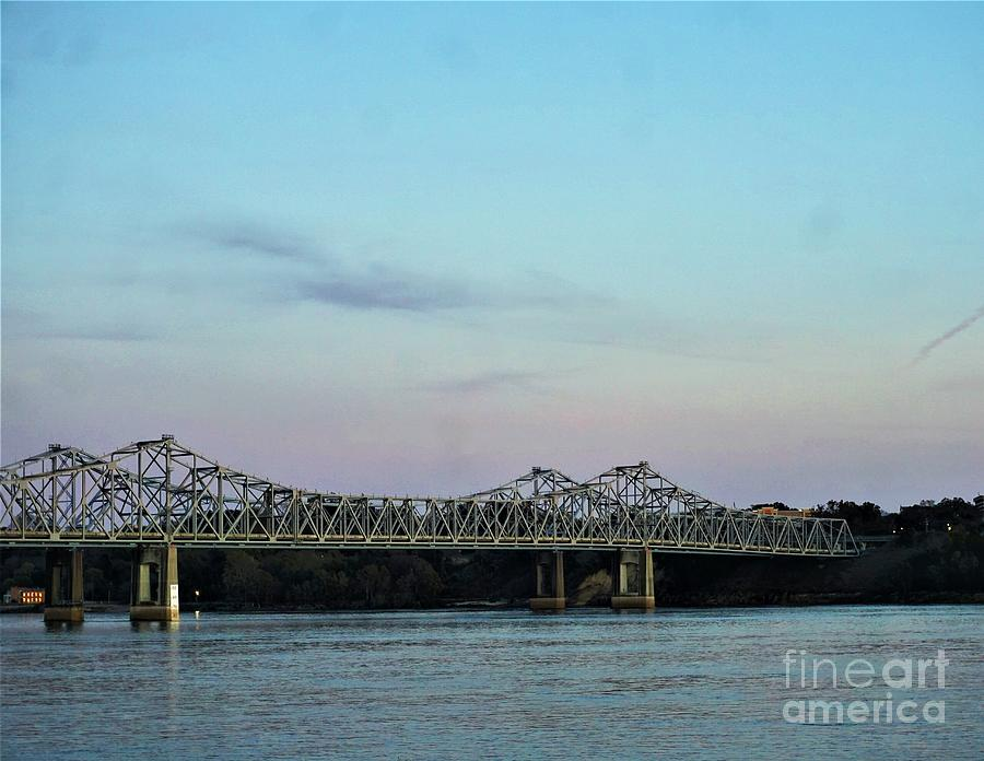 Bridges Over the Mississippi River by Jimmy Clark