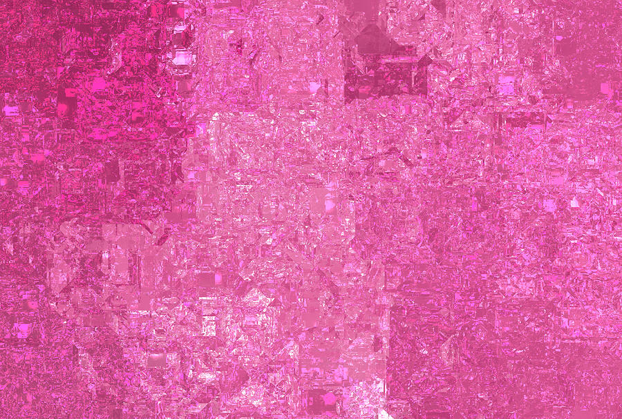 Bright Abstract Mosaic Pink Background With Gloss Photograph