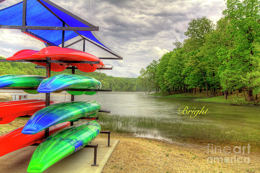 State Park Photograph - Bright by Larry Braun