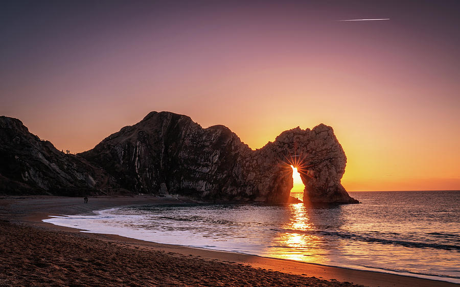 Durdle Door Photograph - Bright Light by Framing Places