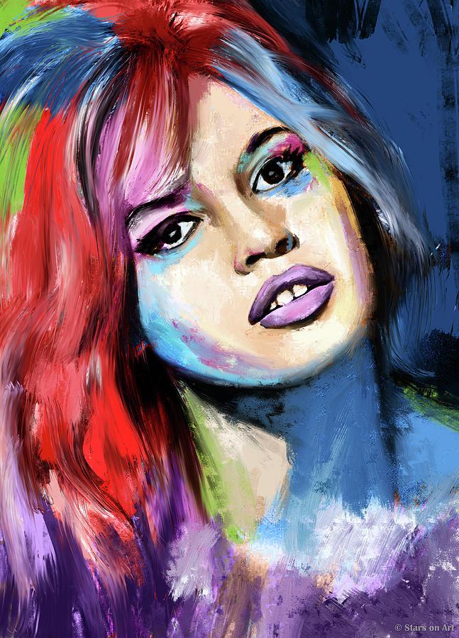 Brigitte Bardot Painting Painting