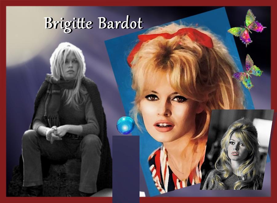 Brigitte Mixed Media