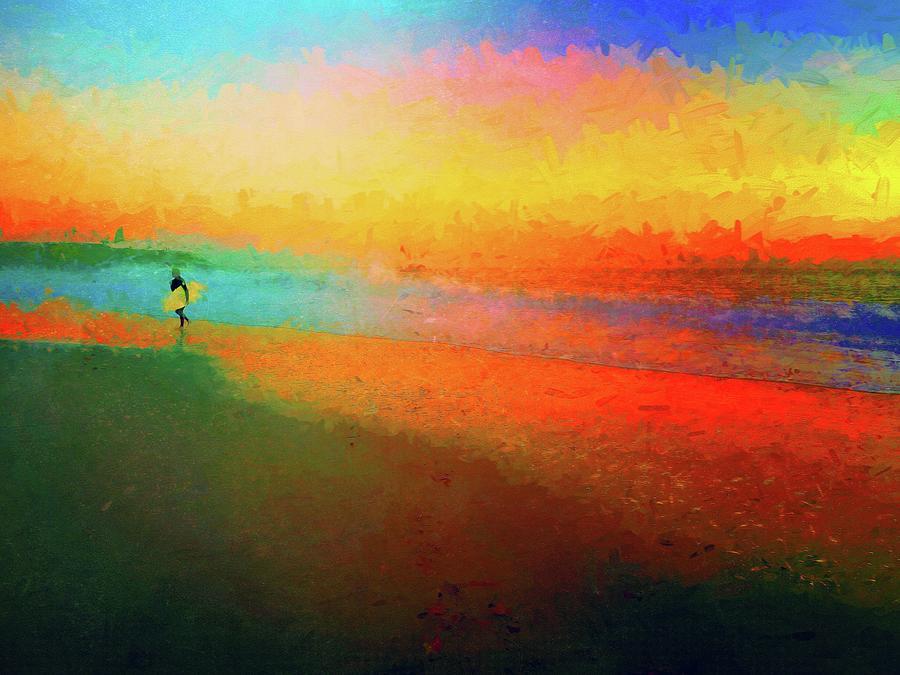 Brilliant Surfer Photograph