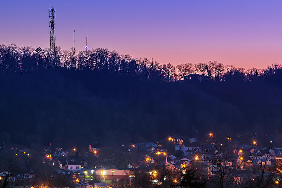 Bristol's Christmas Star at Sunset by Greg Booher