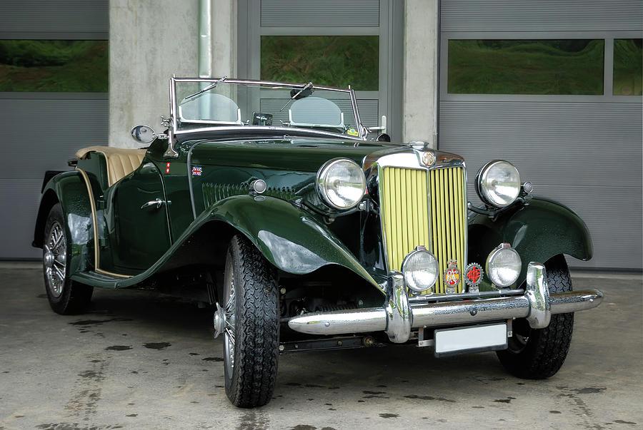 Britisch Classic Car Photograph