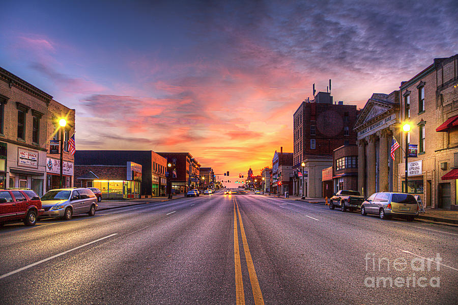 Travel Photograph - Broadway At Dusk  by Larry Braun