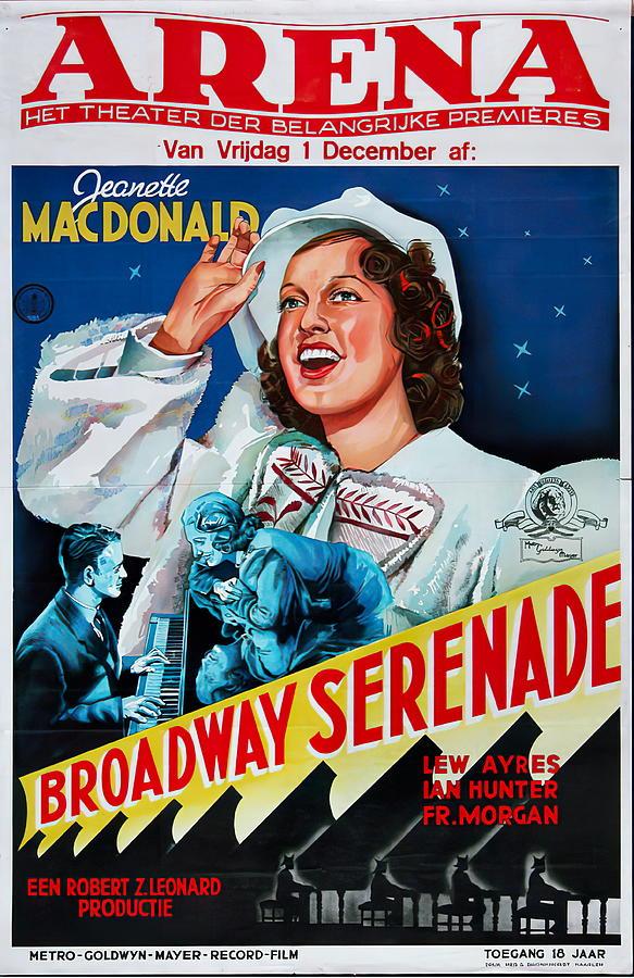 broadway Serenade - 1939 Mixed Media