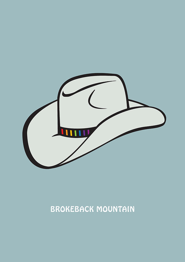 Brokeback Mountain Digital Art - Brokeback Mountain - Alternative Movie Poster by Movie Poster Boy