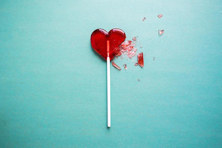 Broken Heart Photograph by Knoppper