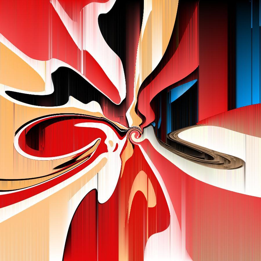 Michal Painting - Broken Hearts by Michal Mitak