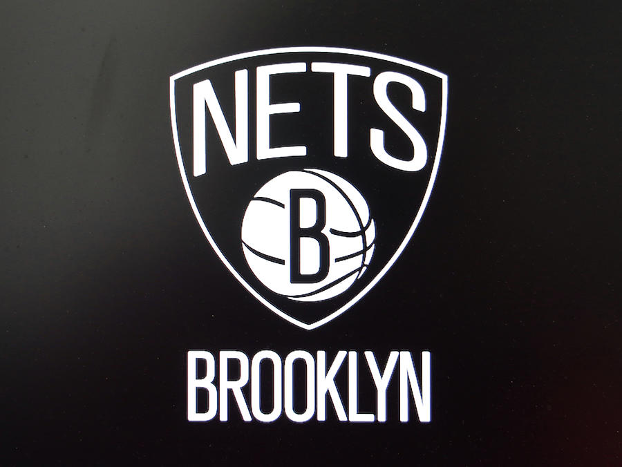 Brooklyn Nets Logo Photograph By Allen Beatty