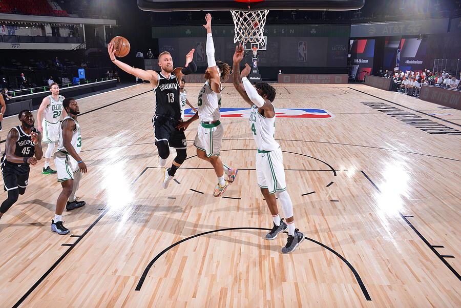 Brooklyn Nets v Boston Celtics Photograph by Bill Baptist