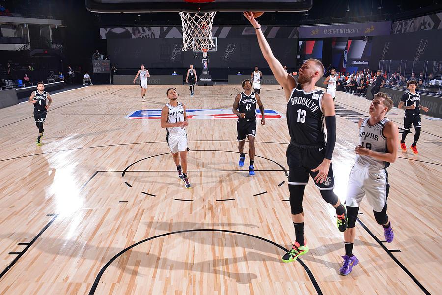 Brooklyn Nets v San Antonio Spurs Photograph by Jesse D. Garrabrant