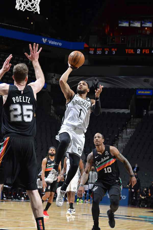 Brooklyn Nets v San Antonio Spurs Photograph by Logan Riely