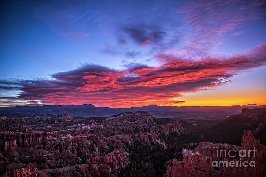 Bryce Canyon Sunrise by Charles Dobbs