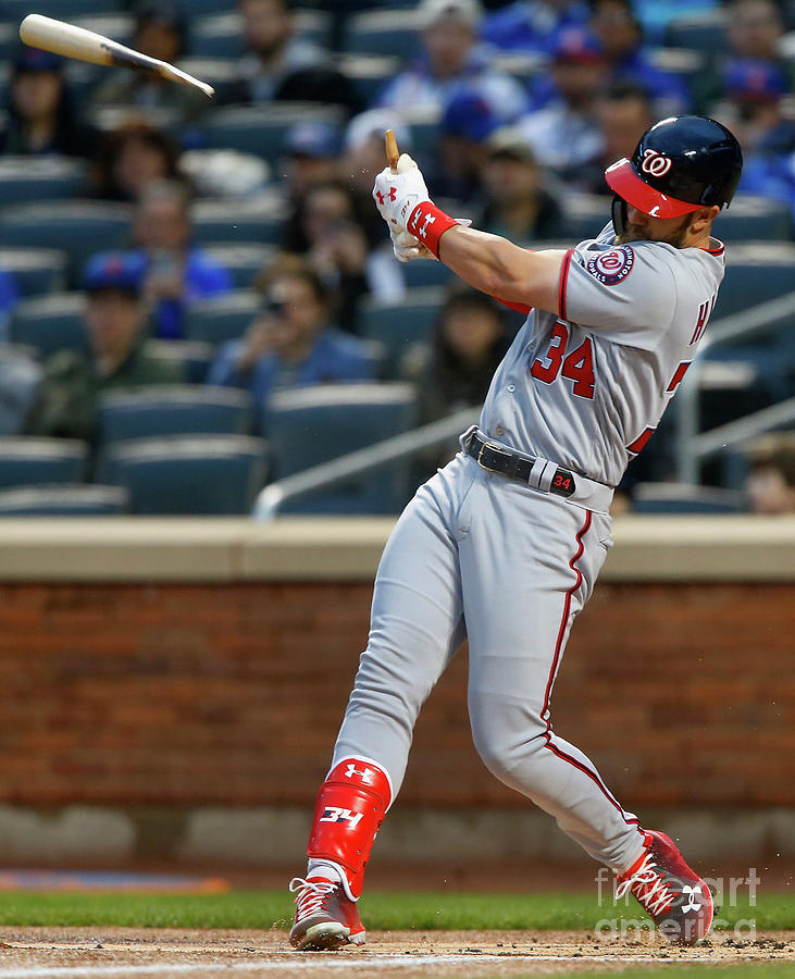 Bryce Harper Photograph by Jim Mcisaac
