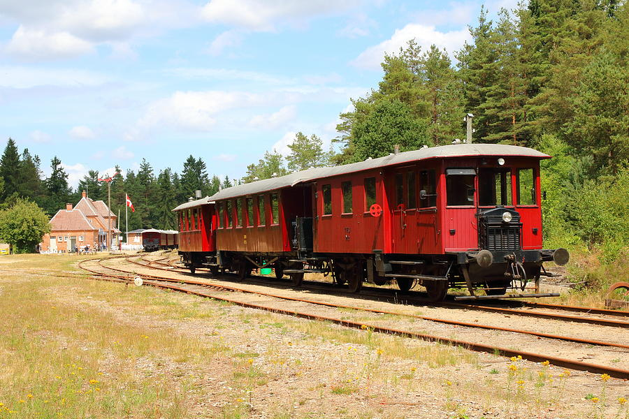 Bryrup - Vrads Veteran Railway Photograph by Pejft