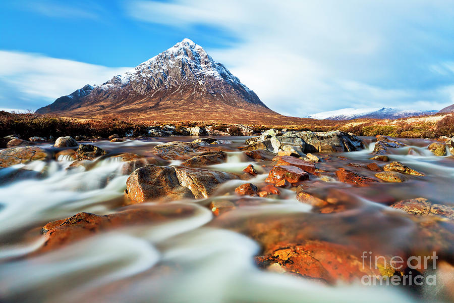 Buachaille Etive Mor in the Scottish Highlands by Neale And Judith Clark