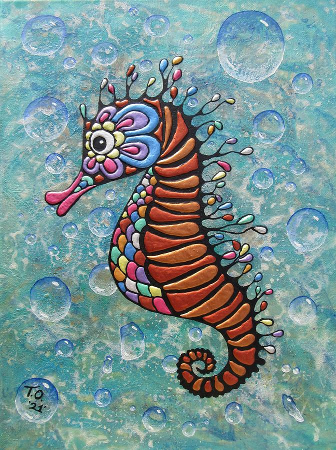 Bubbles Painting