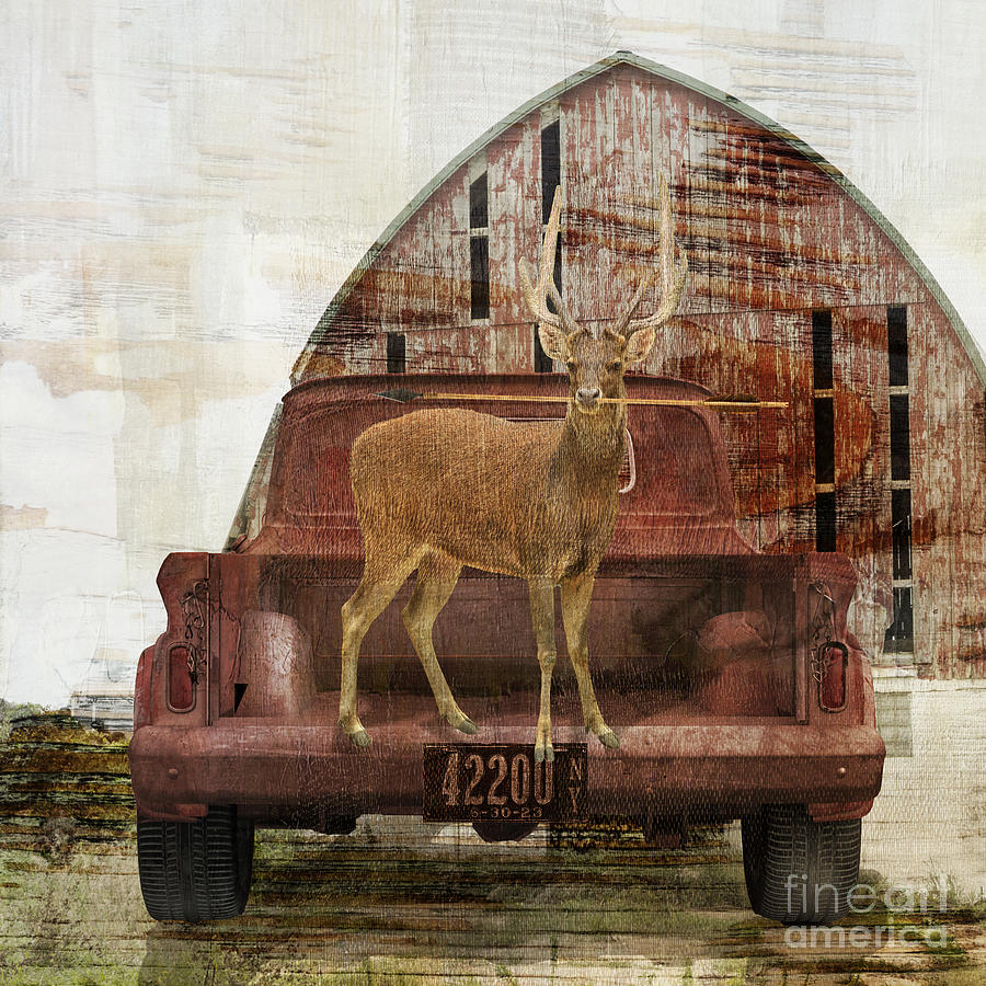 Buck Trip Painting