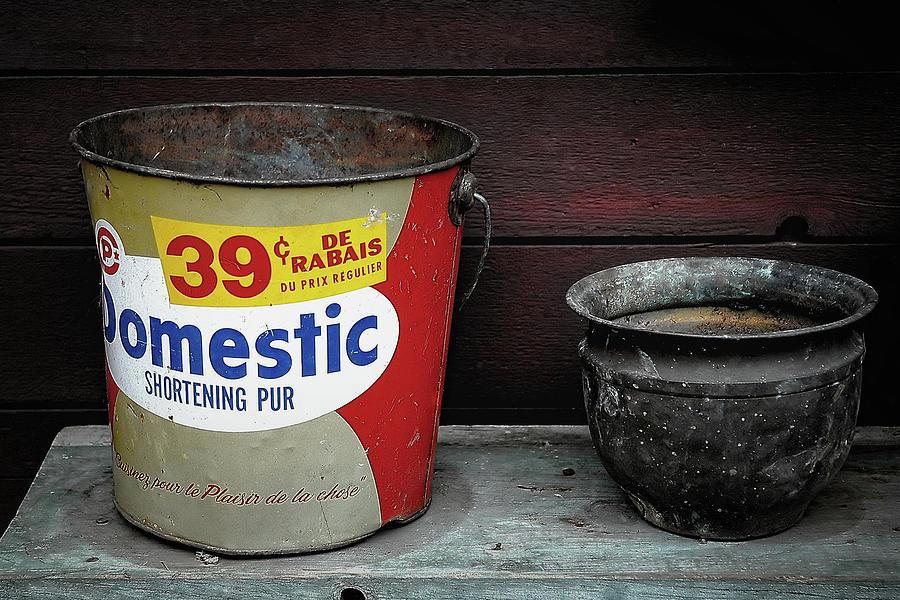 Buckets In Canada Photograph