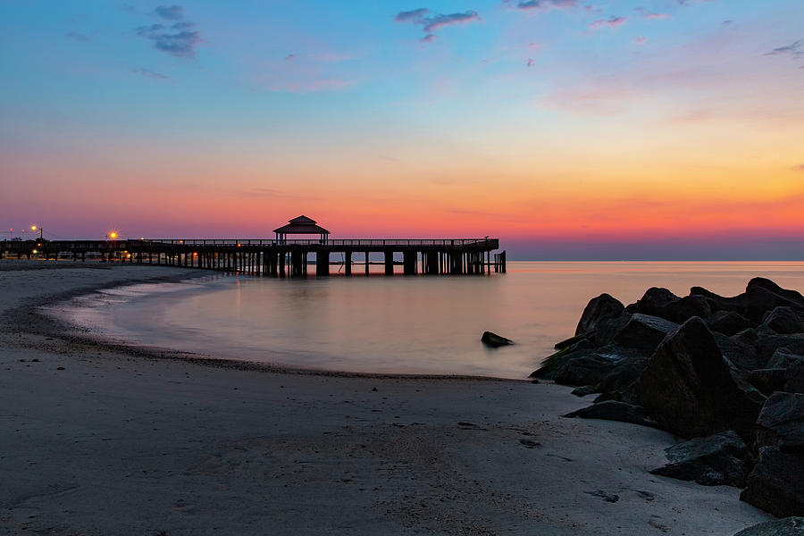 Buckroe Beach Sunrise Photograph