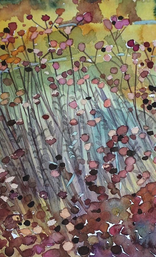 Buckwheat Abstract Painting