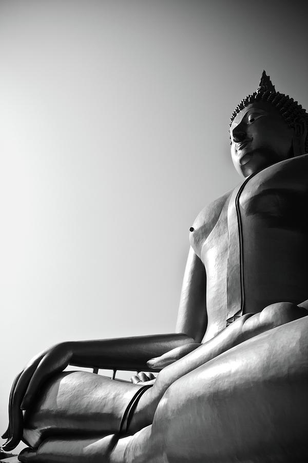 Abstract Photograph - Buddha  by Apatsara Sirirodchanapanya