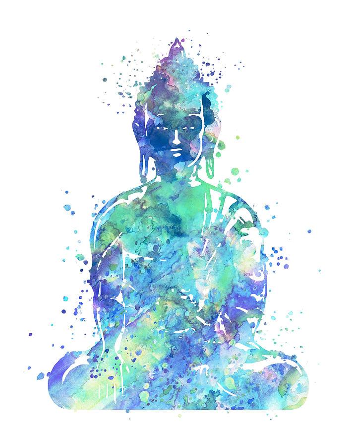 Buddha Painting - Buddha Art by Zuzi s