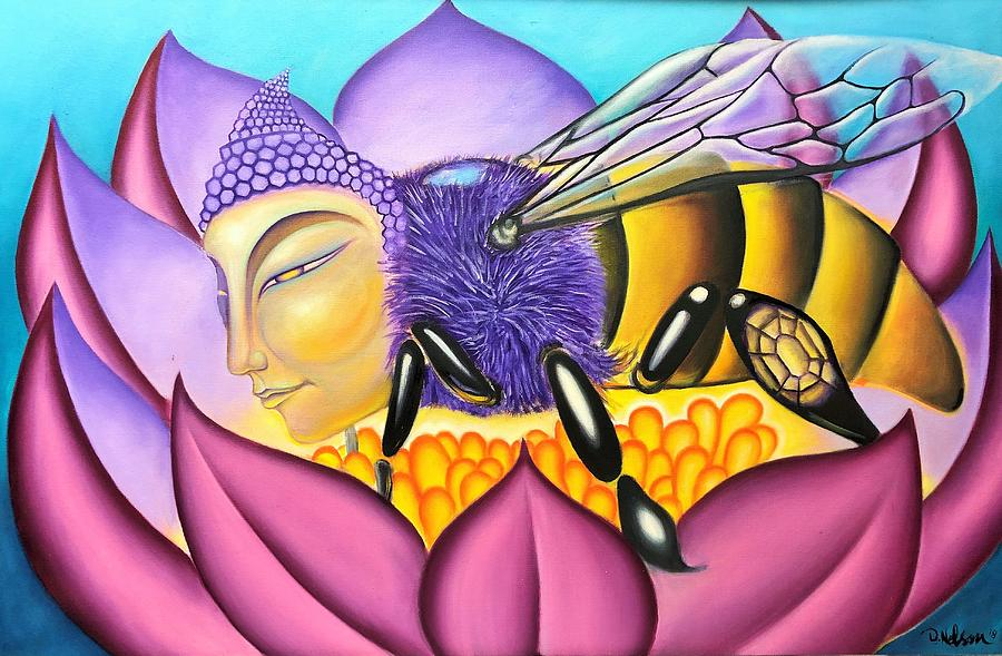Buddha Bee by Jayime Jean