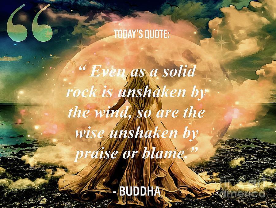 Buddha Says Art Mixed Media