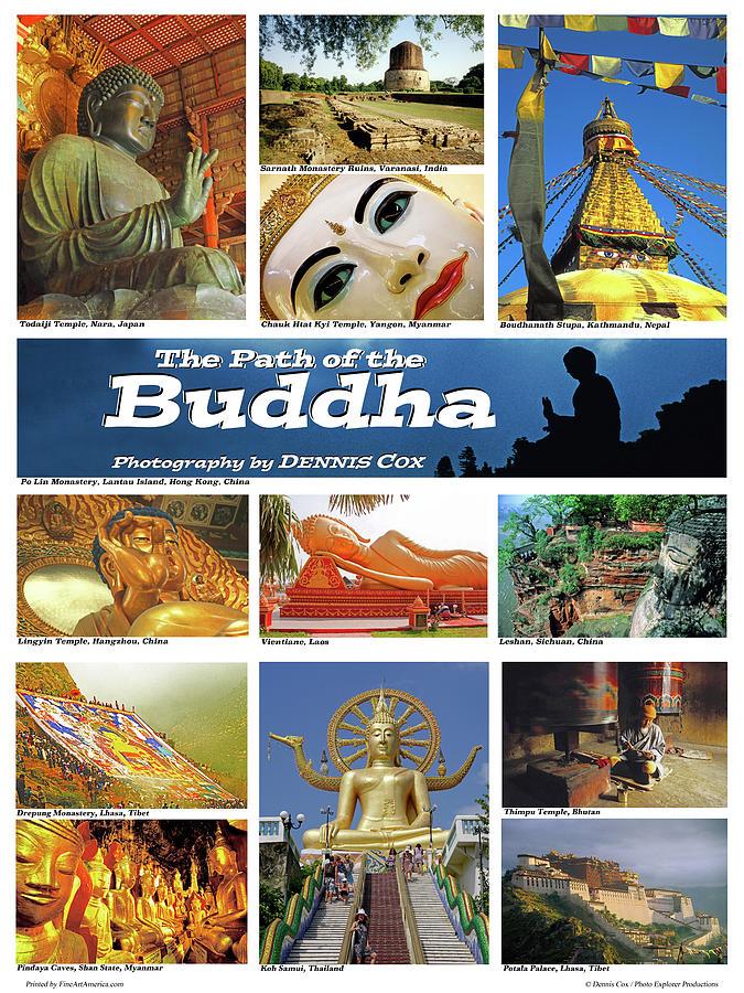 Buddha Travel Poster Photograph