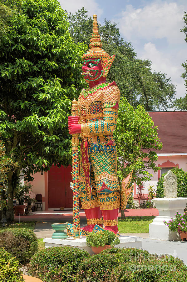Kissimmee Photograph - Buddhism In Florida, Wat Florida Dhammaram, Kissimmee, Florida by Felix Lai