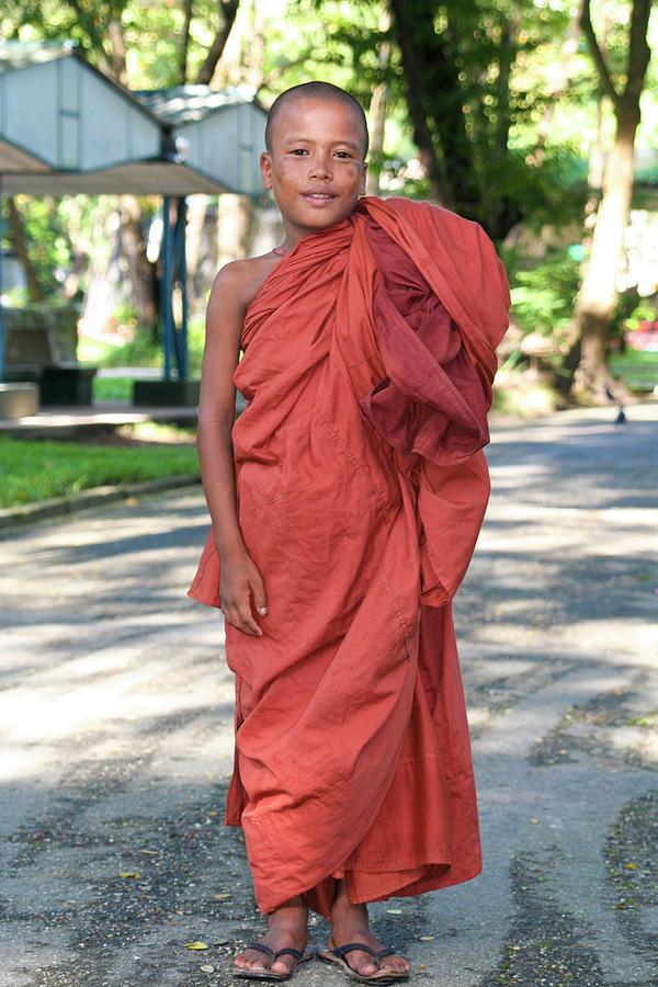 Buddhist Boy Photograph