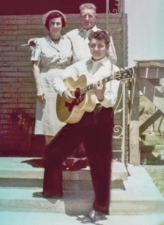 Buddy Holly Photograph - Buddys Gift by John Bates