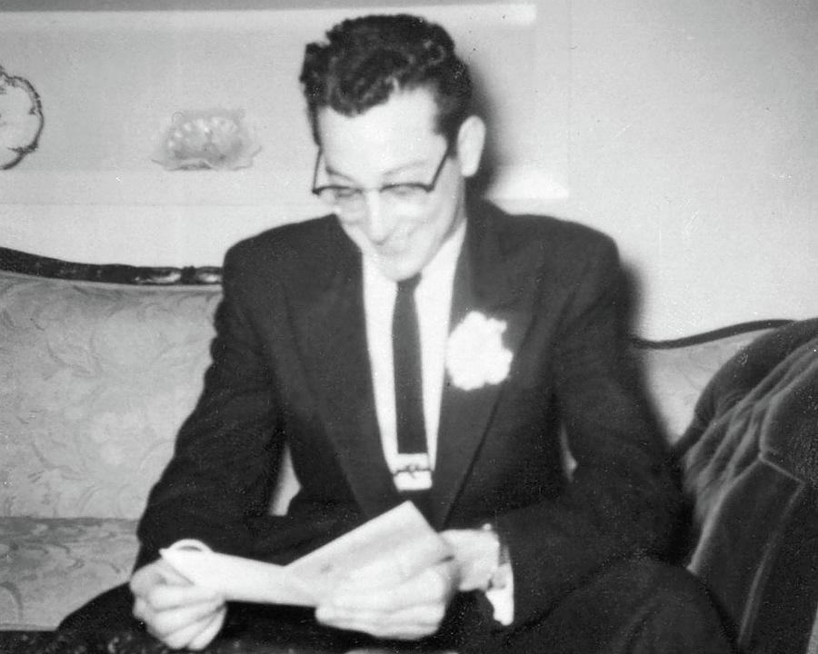 Buddy Holly Photograph - Buddys Prom Gift by John Bates