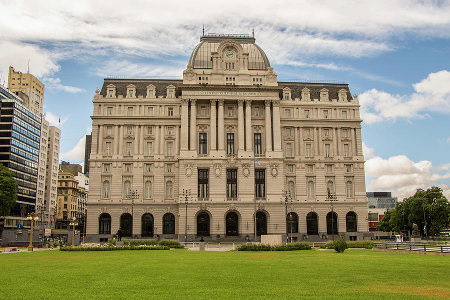 Post Office Photograph - Buenos Aires Central Post Office by Venetia Featherstone-Witty