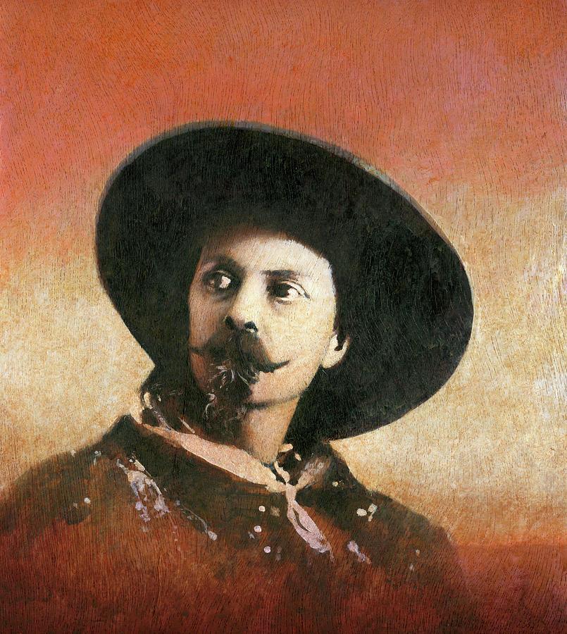 Buffalo Bill Portrait Painting