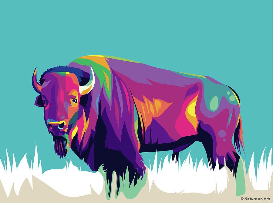 Buffalo Digital Art