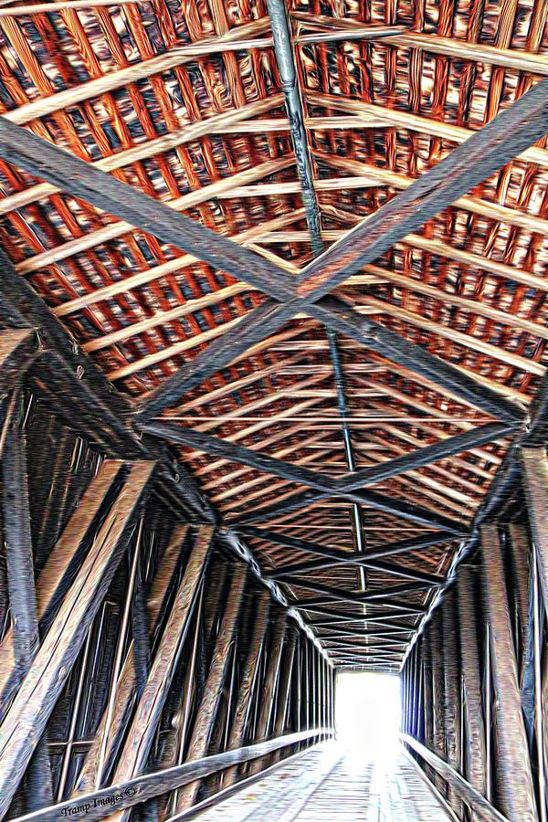 Bufordville Covered Bridge  by Wesley Nesbitt