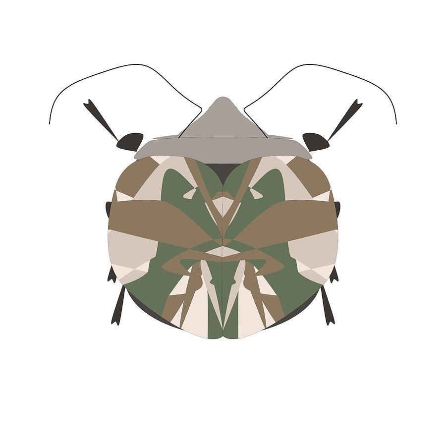 Wall Decor Digital Art - Bug 11 by Eva Butterfly